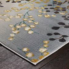 jasmine 33 w grey gold purple fl rug by oriental weavers 2