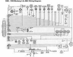 1990 mustang 2 3 wiring diagram mustang 1988 1990 2 3l eec mustang wiring harness kits at 1990 Mustang Wiring Harness