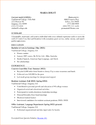 Job Resume Examples For College Students 24 College Student Resume Examples Little Experience Basic Job Resume 14
