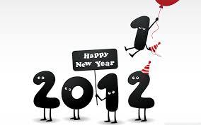 Resultado de imagem para Happy New Year 2012