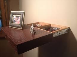 compartment in sliding shelf