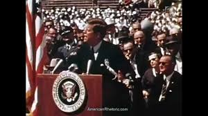 john f kennedy space program speech at rice university