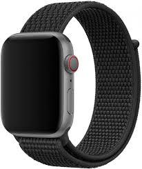 Спортивный <b>браслет Wolt для Apple</b> Watch 42/44 мм (черный)