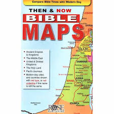 Rose Bible Maps And Charts Then And Now Bible Maps Pamphlet Rose Charts And Books