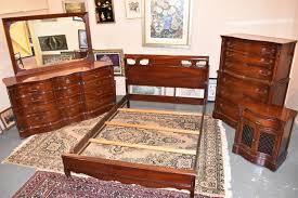 Antique Mahogany Bedroom Suite Vintage Furniture