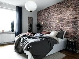 Brick Wallpaper Bedroom Ideas 2