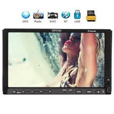 hd lcd 7inch touch screen double din in dash car stereo dvd player eincar 7 inch capacitive touch screen car dvd player double din in dash gps navigation car