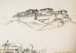 tibet has always been my dream destination since young i copied the palace straight out