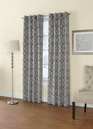 Sears Bedroom Curtains Regal Home Jacquard Grommet Top Single Curtain Panel For The