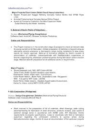 Piping Engineer Cover Letter Mechanical Engineer Cover Letter