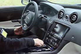 new release jaguar carInside the 2016 Jaguar XJ InControl and more tech by CAR Magazine