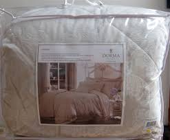 DORMA AVELINE NATURAL BED LINEN QUILTED THROW OVER 265 X 265 NEW ... & DORMA AVELINE NATURAL BED LINEN QUILTED THROW OVER 265 X 265 NEW NEVER USED Adamdwight.com