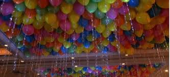 balloon ceiling decorations bright ceiling