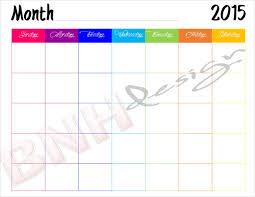 39 Blank Calendar Template Free Premium Templates