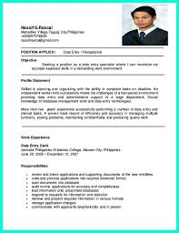 Data Entry Clerk Job Description Resume Pin on Resume Sample Template And Format Pinterest Resume examples 58