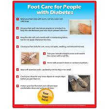 Velcro Memo Board Diabetic Foot Care Memo Board 100100x100 Laminated Magnet or Velcro 18