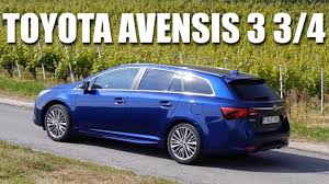 Toyota Avensis FL 2015 (ENG) - First Test Drive and Review - YouTube