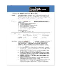 Entry Level Office Assistant Resumes 20 Free Administrative Assistant Resume Samples Template Lab