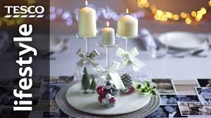 How to Create a Wine Glass Candle Holder for Christmas | Tesco ...