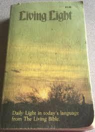 Daily Light Devotional Bible Living Light A Godwink
