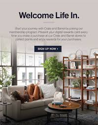 Crate And Barrel Designer Rewards Program Rewards Crate And Barrel Singapore Furniture Home Decor