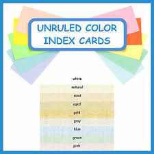 3x5 Cards Details About 150 3x5 Index Cards Color Parchment Cardstock Blank Unruled Colored Card Stock