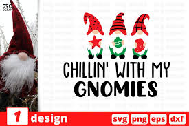 Halloween with my gnome mini skirt. Chillin With My Gnomies Svg Cut File Christmas Svg Bundle 1048344 Cut Files Design Bundles