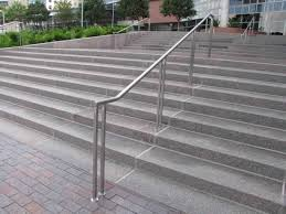 handrails for outside steps | Railings for Stairs | Exterior handrails |  Outdoor Handrails .