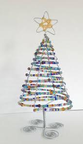 Christmas Tree - Handmade Beaded Wire Art