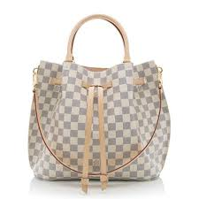 louis vuitton crossbody white. louis vuitton damier azur girolata tote crossbody white
