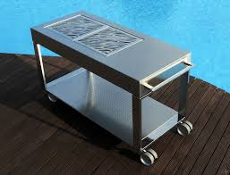 stainless steel furniture designs. Tacora Stainless Steel Luxury Barbecue Furniture Designs A