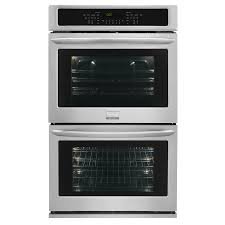 Frigidaire Gallery Self-Cleaning Convection Double Electric Wall Oven  (Stainless Steel) (Common