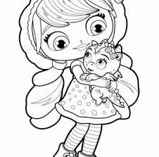 Little Charmers Hezel Da Colorare Cartoni Animati