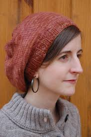 Slouchy Beanie Knitting Pattern Circular Needles