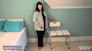 CareGuard Molded Tub Transfer Bench - INV98071 - YouTube