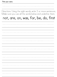 Foundation Handwriting Worksheets Free Alphabet Printable