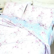 vintage rose duvet cover rose duvet covers pink blue rose reversible cotton duvet cover set vintage