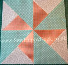 Double Pinwheel Quilt Blocks | FaveQuilts.com & Double Pinwheel Quilt Blocks Adamdwight.com