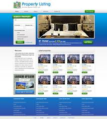 Real Estate Website Template | Free Real Estate Web Templates ...