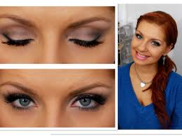 blue eyes fall fashion full lips smokey eye ft ud 2 palette new years eve look ed up bloopers you