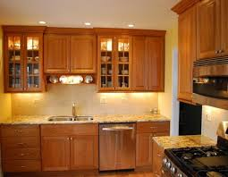 lighting for cabinets. light cherry cabinets what color countertops well coupled and a granite countertop lighting for