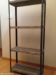 ikea industrial furniture. $14.99 Ikea Galvanized Hyllis Shelf Given An Industrial Look With Rustic Wood Shelves And Paint Furniture A