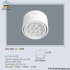 Đèn Lon Nổi Led Anfaco AFC563 12W ɸ 115