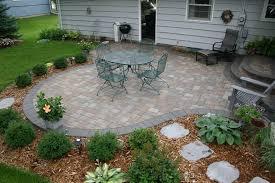 interesting patio brick paver patio design throughout backyard ideas
