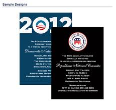 Political Fundraising Invitations Fundraising Invitation Packages Custom Printing For Your