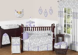 lavender gray elizabeth crib bedding set by sweet jojo designs 9