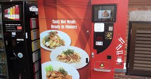 Hot Food Vending Machine Malaysia Beauteous Would You Eat Horfun From A Vending Machine CAMEMBERU
