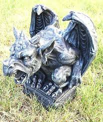 Tall statues for home decor Home Decoration Large Gargoyle Statues Large Roaring Gargoyle On Pedestal Tall Faux Stone Home Decor Garden Statue Gargoyles Aliexpresscom Large Gargoyle Statues Large Roaring Gargoyle On Pedestal Tall Faux