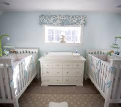 twins nursery furniture. Blue And White Twins Nursery Furniture W