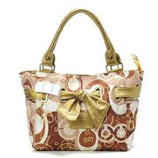 Bag · Coach Poppy Bowknot Signature Medium ...